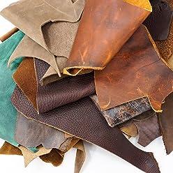 SLC Oil Tanned Boot Scrap Bag (5lbs)