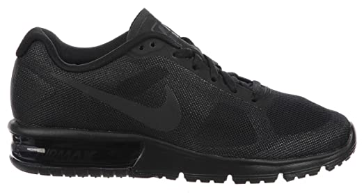 amazon com nike women s air max sequent running shoe black size