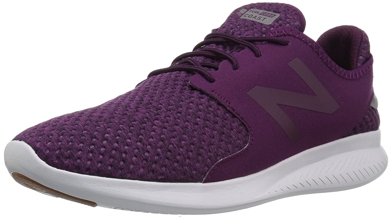 New Balance Women's Coast V3 Running Shoe B01N5J4Y63 85 D US|Mulberry/Silver
