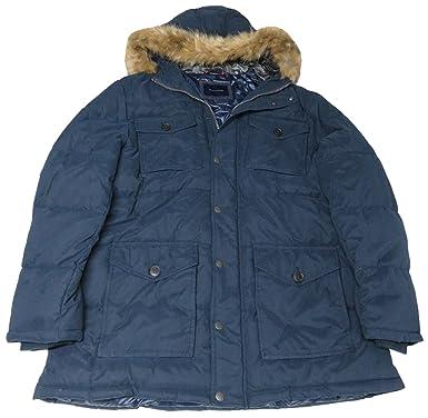 Tommy Hilfiger Men S Winter Jacket Size Xxl Navy At Amazon Men S