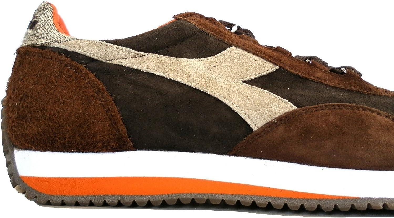 Diadora Heritage, Uomo, Equipe Evo II Brown, Suede, Sneakers