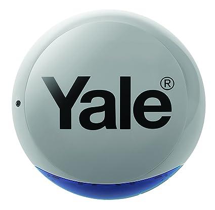 Yale 60-A100-0BXG-SR-5011 Sirena Exterior, Gris: Amazon.es ...