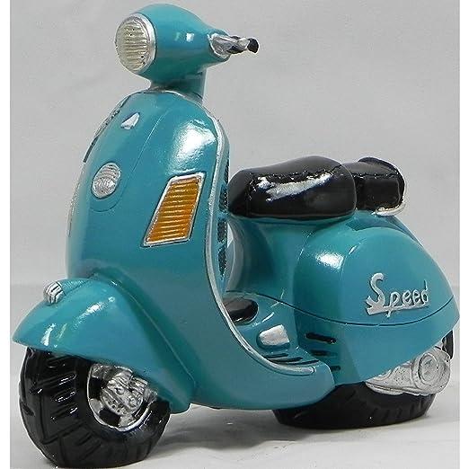 Medidor de nivel de gasolina diseño de Scooter Vespa azul ...