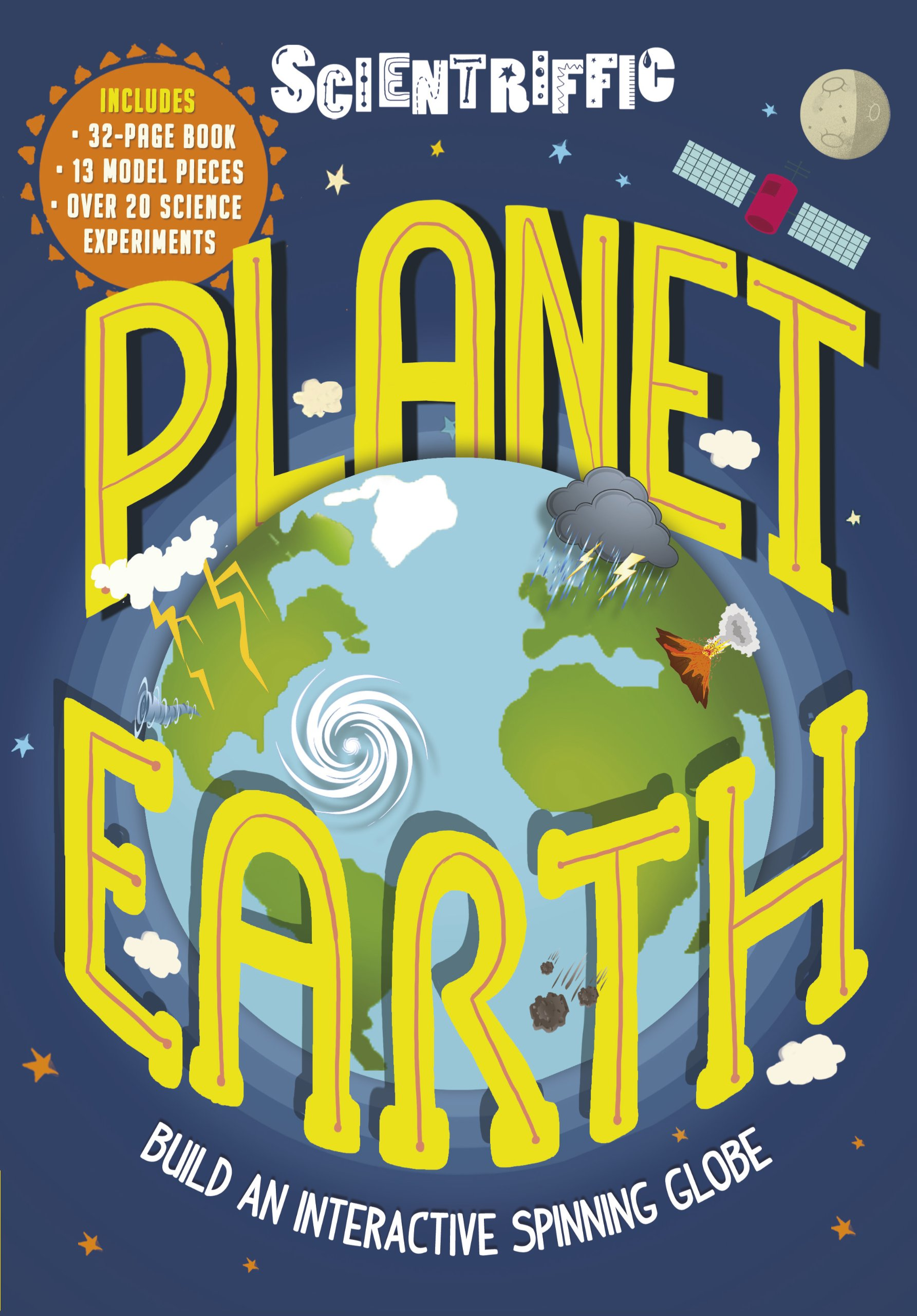 Scientriffic: Planet Earth: Build An Interactive Spinning Globe ...
