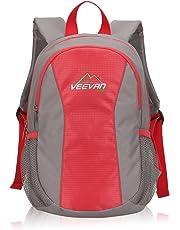 Veevanpro Kids Backpack Mini Daypack Boys Travel Backpack 10 Liter Red
