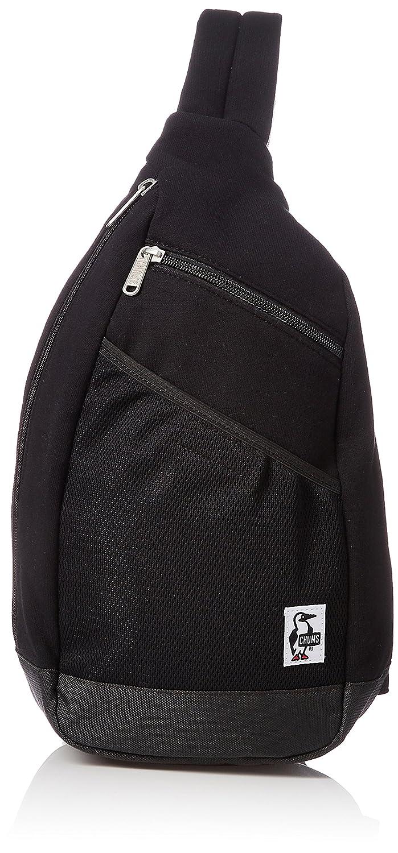 [チャムス] ショルダーバッグ Body BagSweat Nylon CH60-2519-K018-00 B078KH49HX ブラックチャコール ブラックチャコール