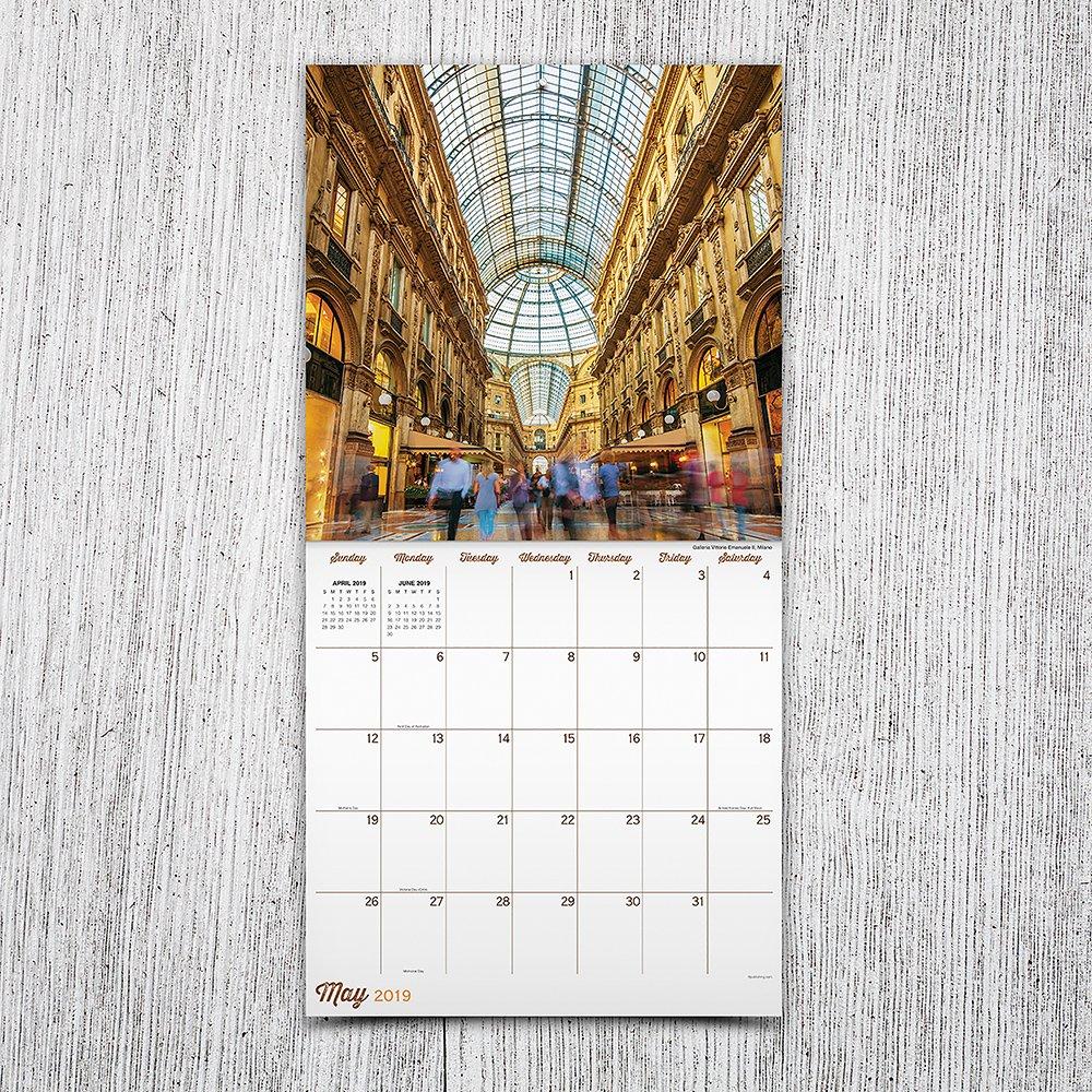2019 Italy Wall Calendar: TF Publishing: 9781683755906 ...