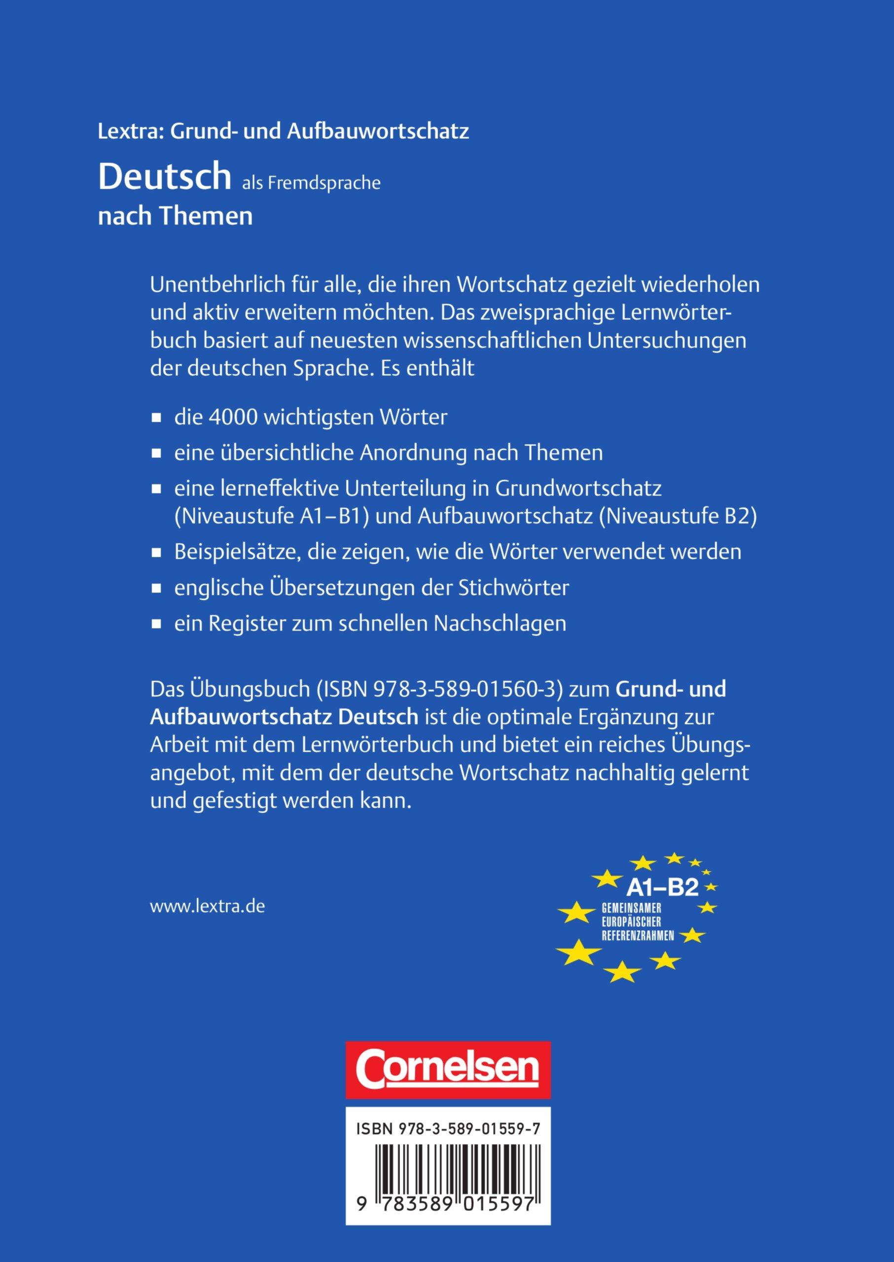 Lextra deutsch als fremdsprache grund und aufbauwortschatz lextra deutsch als fremdsprache grund und aufbauwortschatz nach prof dr erwin tschirner amazon bcher fandeluxe Images