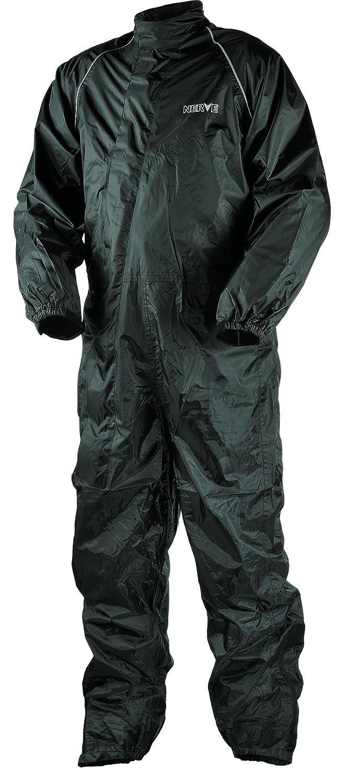 Nerve Hard Rain Traje Impermeable de Moto de Lluvia, Negro, M KangQi 1512050404_03