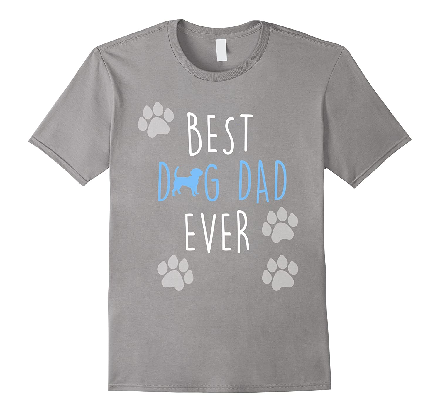 a25324678 Best Dog Dad Ever awesome Father's Day pets funny t-shirt-TH - TEEHELEN