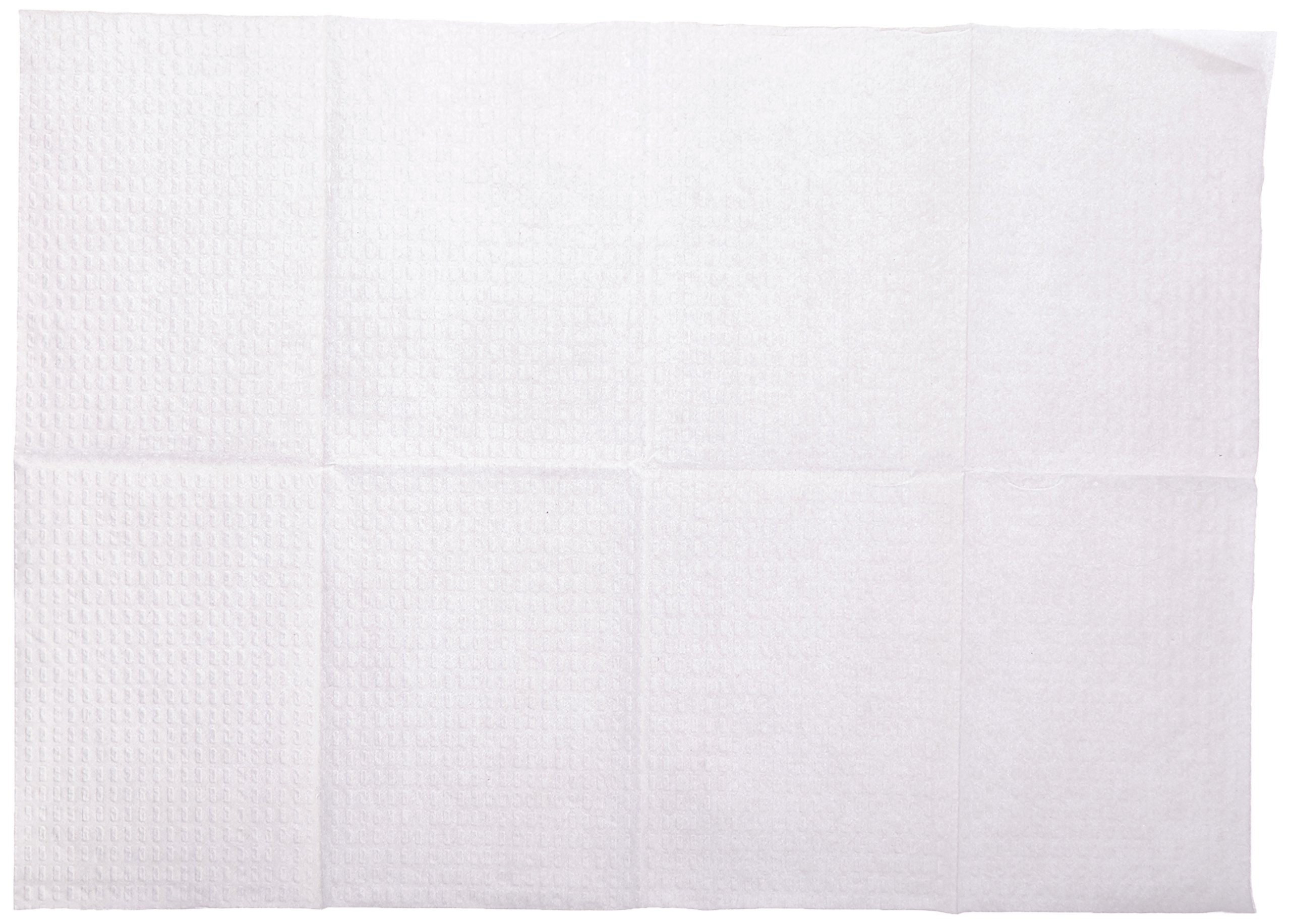McKesson 18-885 Procedure Towel, 3-Ply/Poly, White, 13'' Width, 18'' Length (Pack of 500)
