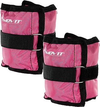 Movit/® Twin Set de Pesas para mu/ñeca//Tobillo Ejecuci/ón de Pesas en 7 Colores//Pesas Diferentes Peso del Brazo Pesas de 0.5kg a 4.0kg