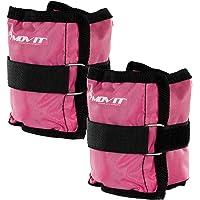 MOVIT® set van 2 gewichtsmanchetten voor polsen en enkels, 7 gewichtsvarianten, gewichten voor armen en benen 2x 0,5 kg…