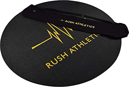 Amazon.com: RUSH ATHLETICS - Esterilla de fitness portátil ...