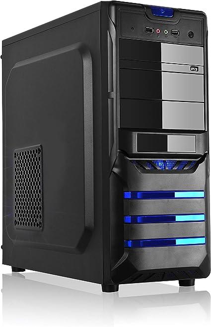 L-link Leonis - Caja ATX-Micro (USB 3.0) con Fuente 500 W, Color ...