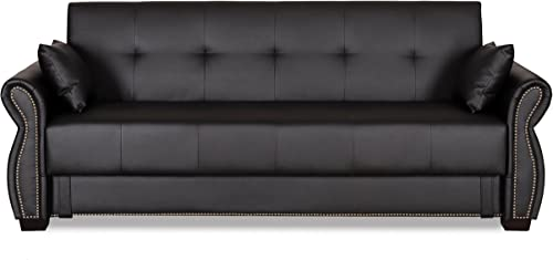 Serta SA-AVO-EBY-Set Dream Convertible Seville Sofa