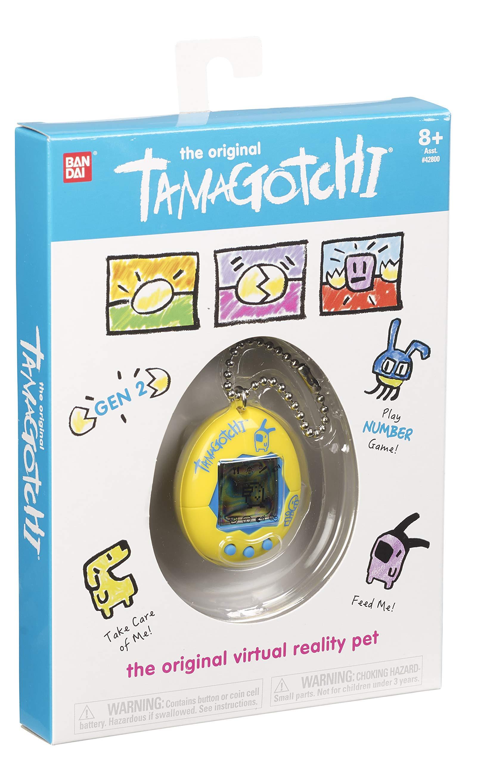 Tamagotchi Electronic Game, Yellow/Blue by Tamagotchi (Image #3)