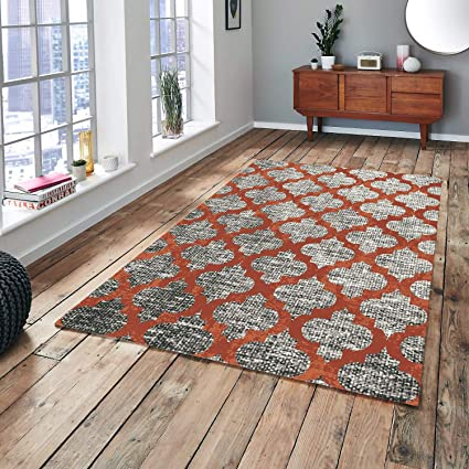 Geometric Trellis Pattern Area Rugs For Living Room Pierre Cardin Collection Bedroom Kitchen