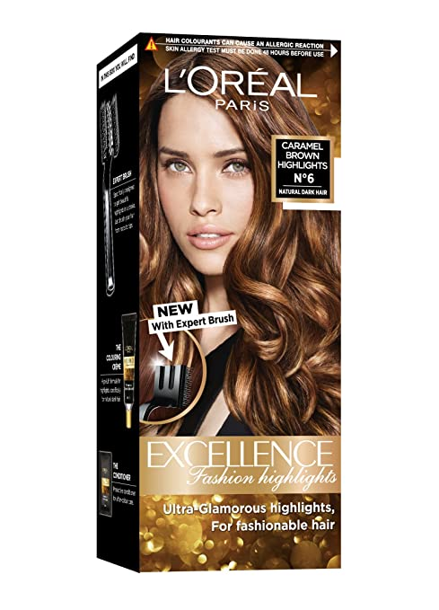 Buy Loreal Paris Excellence Fashion Highlights Hair Color Caramel