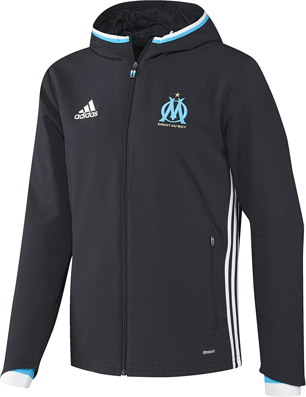 adidas Olympique de Marseille Pre JKT Veste pour Homme