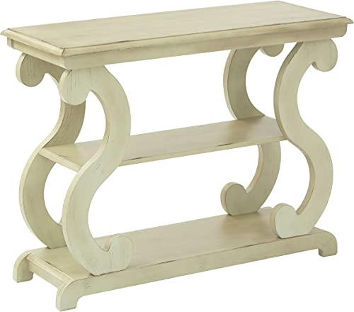 OSP Designs Ashland Console Table, Antique Caledon