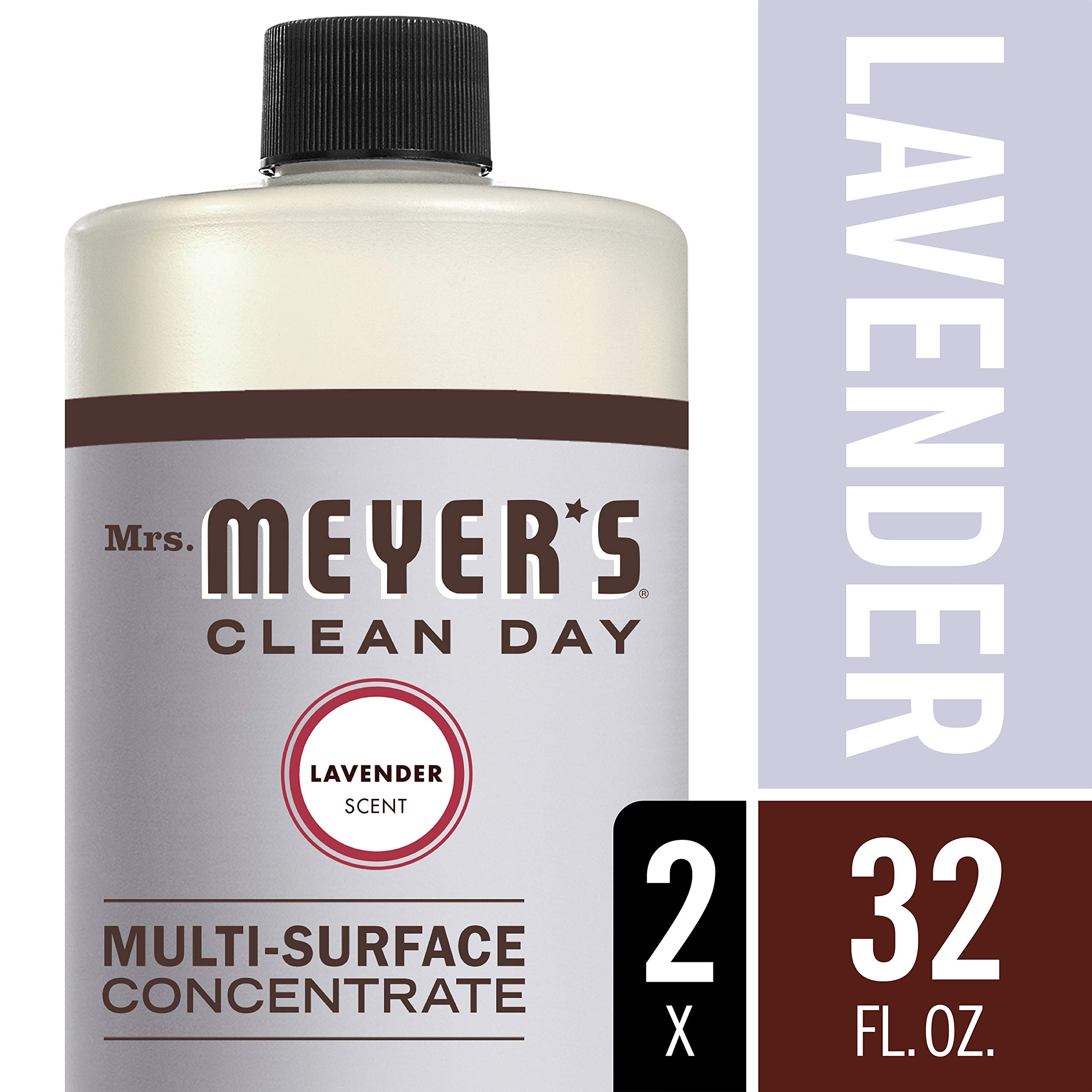 Mrs. Meyer's Clean Day Multi-Surface Concentrate, Lavender, 32 fl oz, 2 ct