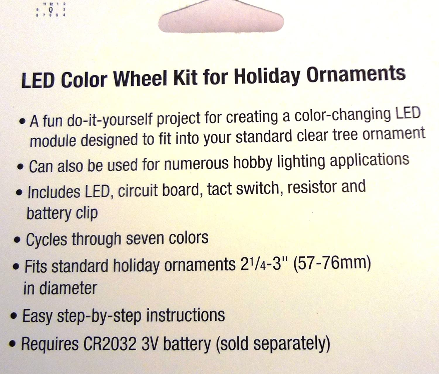 Led Color Wheel Kit For Holiday Ornaments Home Kitchen Step 3 Assemble The Changing Circuit