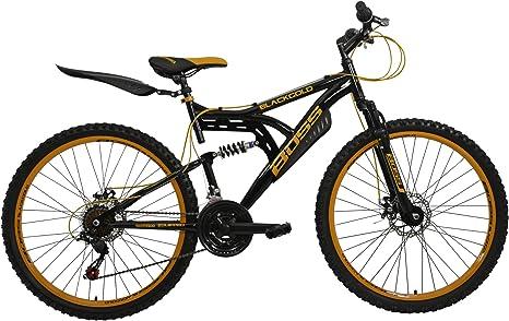 BOSS Mountain - Bicicleta de montaña para Hombre, Talla M (165-172 cm) Talla XS (155-160 cm), Color Azul: Amazon.es: Deportes y aire libre
