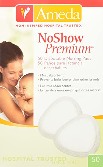 7c415faec41ad Amazon.com   Ameda Noshow Premium Disposable Nursing Pads 50-Count ...