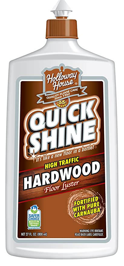 Amazon Quick Shine High Traffic Hardwood Floor Luster And