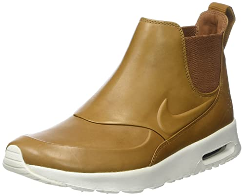 quality design 86c98 f6513 Nike Women s Air Max Thea MID Brown 859550-200 Ale Brown Ale Brown 10 B(M)  US  Amazon.in  Shoes   Handbags