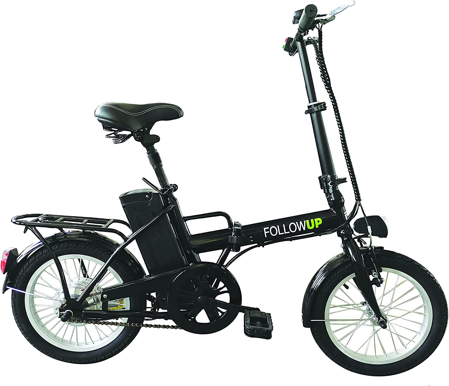 FOLLOW UP E05 Bicicleta eléctrica Plegable para Adulto, Color Negro: Amazon.es: Deportes y aire libre
