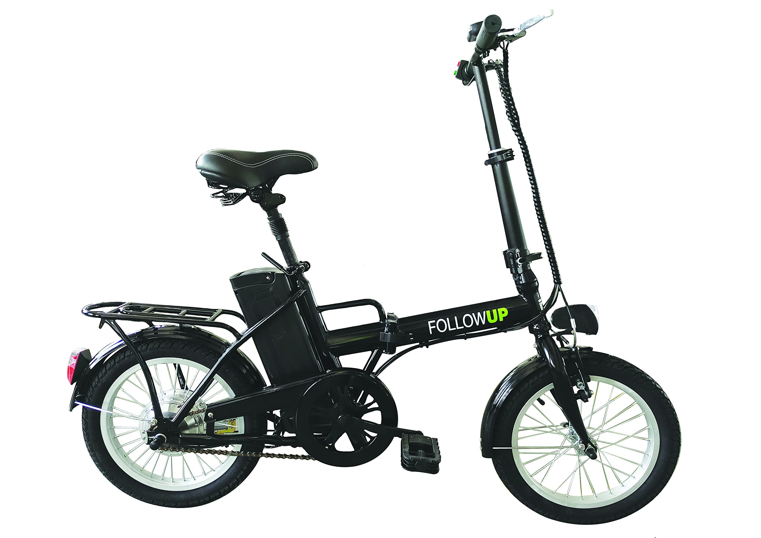 FOLLOW UP E05 Bicicleta eléctrica plegable para adulto, color negro product image