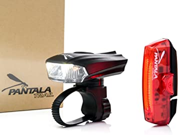 Pantala Trail Luces Bicicleta LED USB Recargables - Set Luz de ...