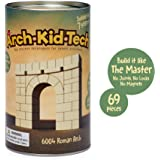 Taksa Toys Arch•Kid•Tech Roman Arch – Architectural Building Blocks Set for Learning History and Ancient Building…