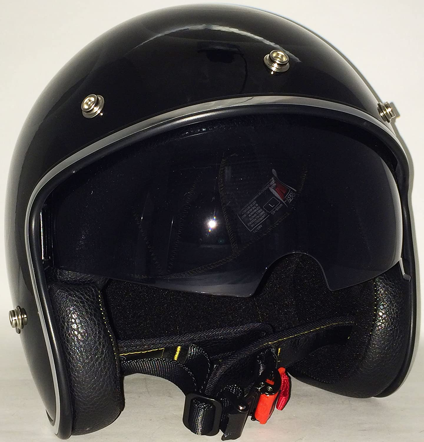 Amazon.es: NUEVO MT Le Mans VS Perfil Bajo Abierto Boquillas Ceñida Chopper Bobber personalizados Casco Moto Bicicleta City Roller Accidente