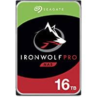 "Seagate IronWolf Pro, 16 TB, Interne Harde Schijf, NAS, CMR, 3,5"", SATA, 6 GB/s ,7200 RPM, 256 MB Cache, voor NAS RAID…"