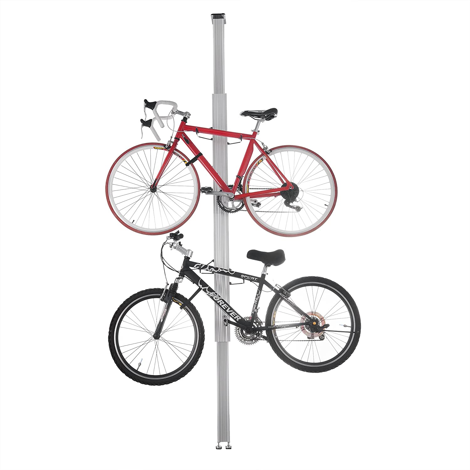 RAD Cycle Products Aluminum Bike Stand Bicycle Rack Storage or Display for Two Bicycles 2024 Aluminum Bike Rack
