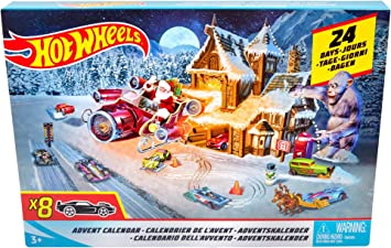 Amazon.com: Hot Wheels Advent Calendar: Toys & Games