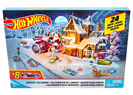 Hot Wheels Advent Calendar 2019 Amazon.com: Hot Wheels Advent Calendar: Toys & Games