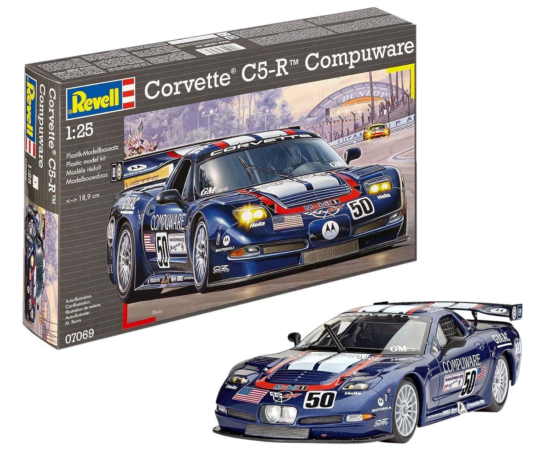 07069 1/25 Corvette C5-R Compuware Revell of Germany Revell_07069