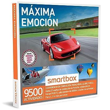 SMARTBOX - Caja Regalo - MÁXIMA EMOCIÓN - 9500 experiencias como conducción de Ferrari o Porsche
