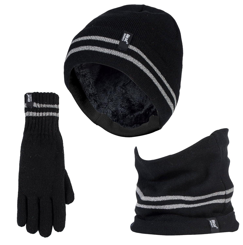 a65c2f21deb Heat Holders - Mens Hi Vis Thermal High Visibility Hat