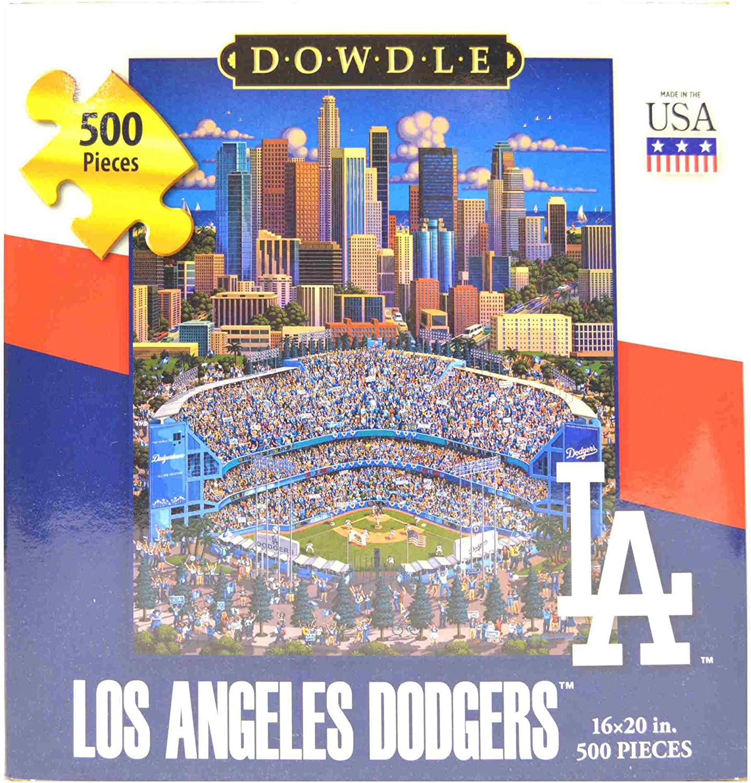 Los Angeles Dodgers 500 Piece Dowdle Jigsaw Puzzle