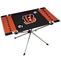 Jarden NFL Mesa Plegable portátil, 80 x 53 x 48 cm (Todas Las Opciones de Equipo)