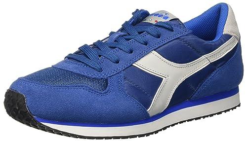 Diadora K-Run II, Zapatillas con Plataforma para Hombre, Azul (Dutch Blue/Aluminium), 40 EU