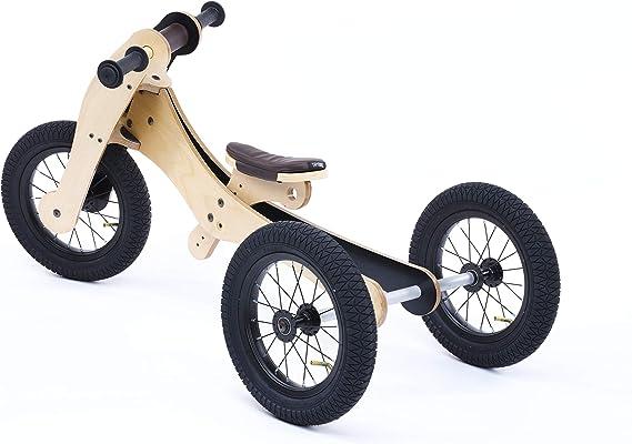 Trybike- Bici Madera 4 en 1, Multicolor: Amazon.es: Juguetes y juegos
