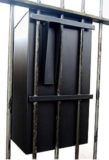Garten Box rottner garten fence post box anthracite amazon co uk diy tools