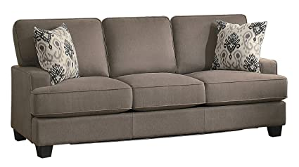 amazon com homelegance kenner sofa sleeper modern classic t cushion rh amazon com