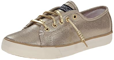42fed6510f6 Sperry Seacoast Gold Girls Deck   Boat Shoes  Amazon.co.uk  Shoes   Bags
